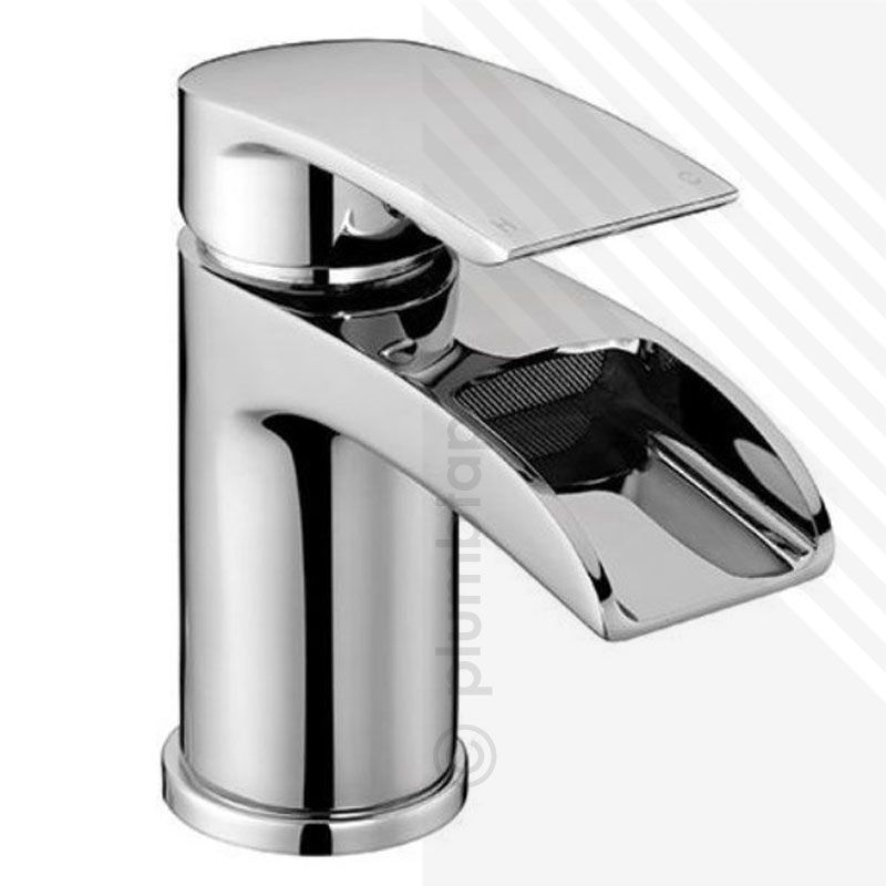 Scudo Modern Bath Filler Amp Basin Mixer Tap Pack With